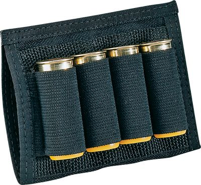 Hunting The Shotgun Shell Holder keeps four shotgun shells ready for immediate action. The elastic stretch material will securely hold 20- or 12-gauge shells. It can be used with or without the Buddy-Lok System.Color: Black. - $3.88