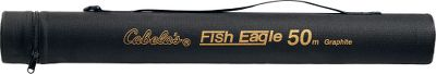Fishing Protect your Fish Eagle 50 pack rod with this Cordura-nylon-lined PVC tube. 1 carry strap. Imported. Inside dimensions: 23 x 2-3/4. Outside dimensions: 24-3/4 x 3. - $19.99