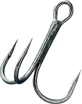 Fishing Round-bend trebles are made with high-carbon steel. An innovative tempering process gives these hooks excellent strength and durability. The hooks have conical needle-honed points for lasting sharpness. Per 10.Sizes: 12, 10, 8, 6, 5, 4, 3, 2.Color: Bronze. Type: Treble. Size 2. Color Bronze. - $7.99