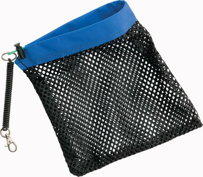 Fishing This soft, structured mesh bag improves your grip on trout, salmon, steelhead, bonefish and all other game fish making it not only a great anglers tool but a safer way to handle fish, too. Youll land fish more quickly while exerting less pressure, thereby reducing the mortality rate of fish you choose to release. Clip the lanyard to your vest, belt or float tube so that its there when you need it. Simply wet it, slip your hand inside and grasp the fish around the tail for control. The tension increases as the mesh pulls against your fingers, bettering your grip. Cleans easily with warm water and soap. Made in USA. Size: LANDING HAND. - $19.95