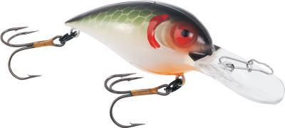Fishing Straight-running, fish-catching lure American made of American components. The Wart-Hog series sports proven colors and swims with an attractive semi-wide wobble. Made in USA. Per each.Size: 2, 3/8 oz. Dives 6 - 8-feet.Colors: (061)Tennessee Shad, (071)Peanut Butter and Jelly, (101)Chartreuse Black Back, (131)Shad, (181)Phantom Green, (191)Phantom Brown, (201)Burnt Orange Craw, (231)Molting Craw. - $4.99