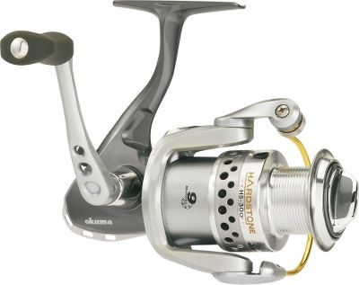 Fishing The Hardstone is long on features and short on price. This reel combines a rugged graphite body and an eight-ball-bearing drive. Elliptical Oscillation System produces even line lay with added strength. QuickSet anti-reverse eliminates backplay for solid hooksets. Anodized aluminum spool is ported to reduce weight. RES-balanced rotor for smooth casting. Hydro Bloc water tight seal for years of fish-hooking service. - $29.88