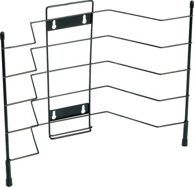 Fishing Organize and store your utility boxes with ease. Wire supports are angled upward to secure heavier loads. Wall mounted or freestanding. Utility boxes not included. Sizes: 12H x 15W x 6D, holds four 3600/3700 utility boxes 21H x 15W x 6D, holds eight 3600/3700 utility boxes Size: 4 CAPACITY. - $3.88