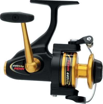 Fishing When developing the new SS, Penn incorporated consumer feedback and the latest innovations. The result is a lightweight reel with all the top features you'd expect from a Penn. Trip Friction Ramp prevents premature bail trip when casting. Ergonomic, contoured frame. Stainless steel main shaft. Five stainless steel ball bearings plus one infinite anti-reverse roller bearing. Sealed drag knob. Penn power drag. Techno-Balanced rotor. Leveline spool wrap system. Corrosion-resistant, gold-anodized, machined handle. - $59.88