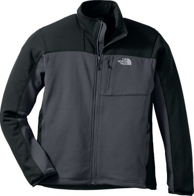 An excellent choice as part of your cool- or cold-weather layering system, the sleek, performance-fit The North Face Mens Momentum Jacket is also great alone. A blend of 93/7 polyester/elastane delivers high-movement mobility for active days. Napoleon chest pocket and two handwarmer pockets. Elastic-bound cuffs. Single-hand hem cinch cord cinches tight to block wind. Imported. Sizes: M-2XL. Colors: Asphalt Grey, Nautical Blue/Asphalt Grey, Biking Red, TNF Black, Tree Frog Green/Vanadis Grey, TNF Red/Vanadis Grey, High Rise Grey/Vanadis Grey. Size: X-Large. Color: Tree Frog Grn/V Grey. Gender: Male. Age Group: Adult. Material: Polyester. Type: Jackets. - $99.00