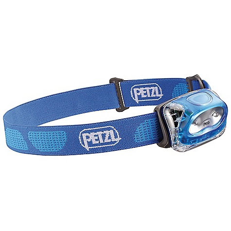Entertainment Petzl Tikkina 2 Headlamp DECENT FEATURES of the Petzl Tikkina 2 Headlamp Versatile and energy efficient Two lighting modes (maximum and economic) 190 h light duration on economic mode Easy to use Push-butt on switch Battery pack is easy to open Light beam can be aimed ADAPT system is quick to mount Two LEDs 23 lumens (maximum mode) Shines up to 23 meters (maximum mode) Reliable Push-butt on switch limits inadvertently turning on the lamp during storage Compact, light and comfortable Single compartment contains LEDs and batteries Adjustable headband The SPECS Certification: CE Case Quantity: 54 Weight: 80 g Beam Pattern: Wide Maximum Light Quantity: 23 lumens Maximum Lighting Distance: 23 m Maximum Battery Life: 190 Number of Batteries: 3 Battery Type (included): AAA/LR03 Battery Compatibility: Alkaline, Lithium, rechargeable Ni-MH, rechargeable Ni-Cd Water Tightness: IP X4 (water resistant) Maximum mode: Light Quantity: 23 lumens, Distance t=0: 23 m, Distance t=0h30: 20 m, Distance t=10h00: 15 m, Distance t=30h00: 8 m, Battery life: 55 h Economic mode: Distance t=0: 13 m, Distance t=0h30: 12.5 m, Distance t=10h00: 11 m, Distance t=30h00: 10 m, Battery life: 190 h Declining maximum mode: Light Quantity: 35 lumens, Distance t=0: 24 m, Distance t=0h30: 21 m, Distance t=10h00: 10 m, Battery life: 21 h Declining economic mode: Distance t=0: 12 m, Distance t=0h30: 12 m, Distance t=10h00: 11 m, Distance t=30h00: 5 m, Battery life: 100 h Constant maximum mode: 23 m for 8 h30, Battery life: 8h30 Constant economic mode: 11 m for 42 h, Battery life: 42h - $19.95