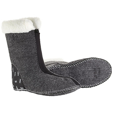 Entertainment Sorel Women's Caribou Felt Liner (Fall 2006) Women's Caribou Felt Liner by Sorel Features: Upper is polyester made with polypropylene and recycled fibers. Sole is reinforced. Normal Heel Unlined - $29.95