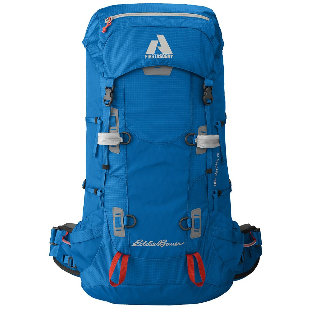 Eddie Bauer Big Tahoma Pack - Too much gear is overbuilt, when all that's needed is for it to be built right. Big Tahoma. No bells and whistles, just every essential. It's what our Guide Team wears on Rainier and all their other 2-3 day climbs. - $249.00