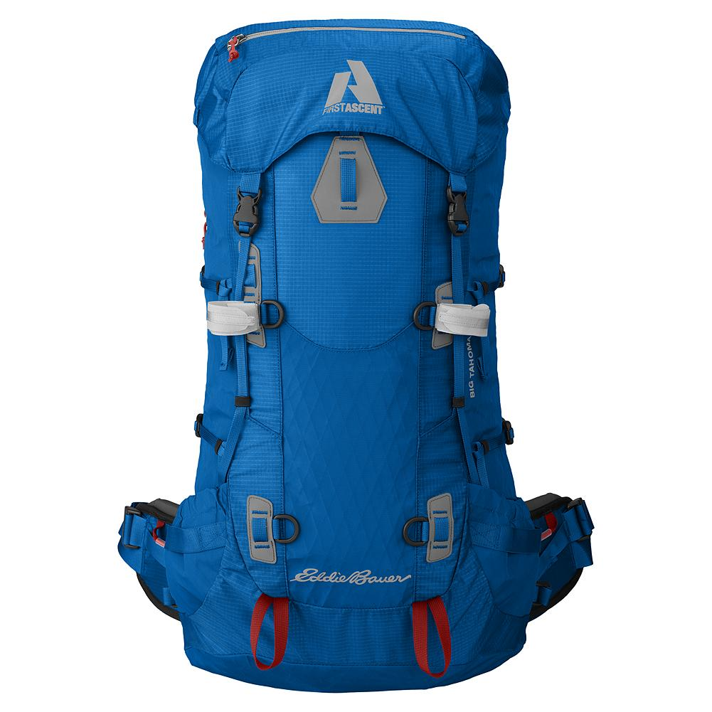 Eddie Bauer Big Tahoma Pack 65L - Too much gear is overbuilt, when all that's needed is for it to be built right. Big Tahoma. No bells and whistles, just every essential. It's what our Guide Team wears on Rainier and all their other 2-3 day climbs. - $279.00