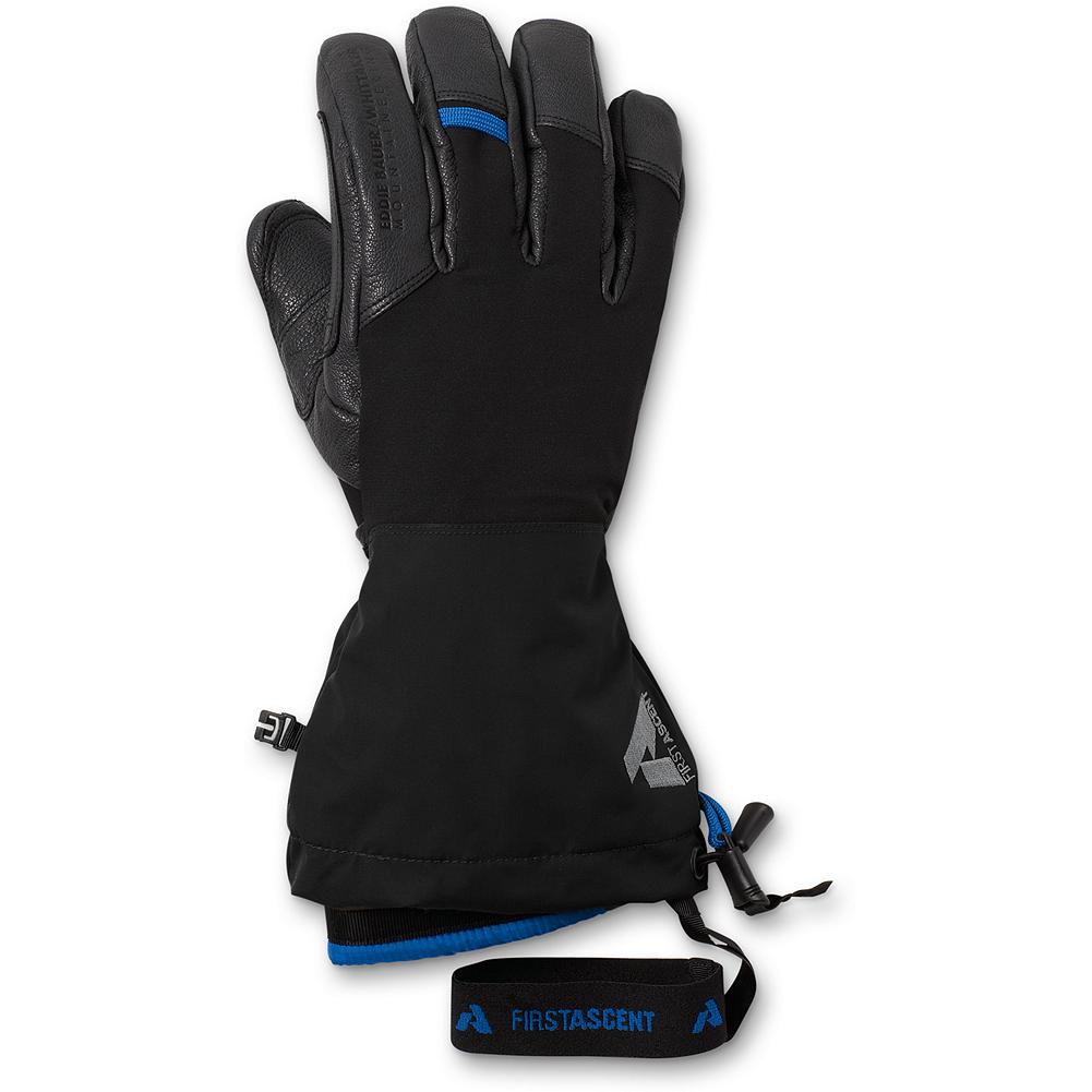 Eddie Bauer Heli Guide Gloves - Three gloves in one - and they're unisex. Wear the outer shell alone in warmer conditions, and use the liner as a back-up glove in mild weather. Wear them together for exceptional warmth. Note: women may want to size down.                Watch Product Demo - $149.00