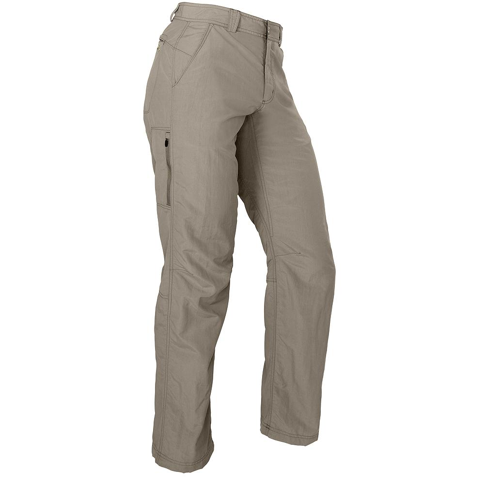 Eddie Bauer Travex Pants - Lightweight, travel-ready and feature-packed-with secure zip back pockets, articulated knees and a zippered utility pocket. Made of soft, comfortable, fast-drying nylon with UPF 30+ sun protection. Imported. - $39.99