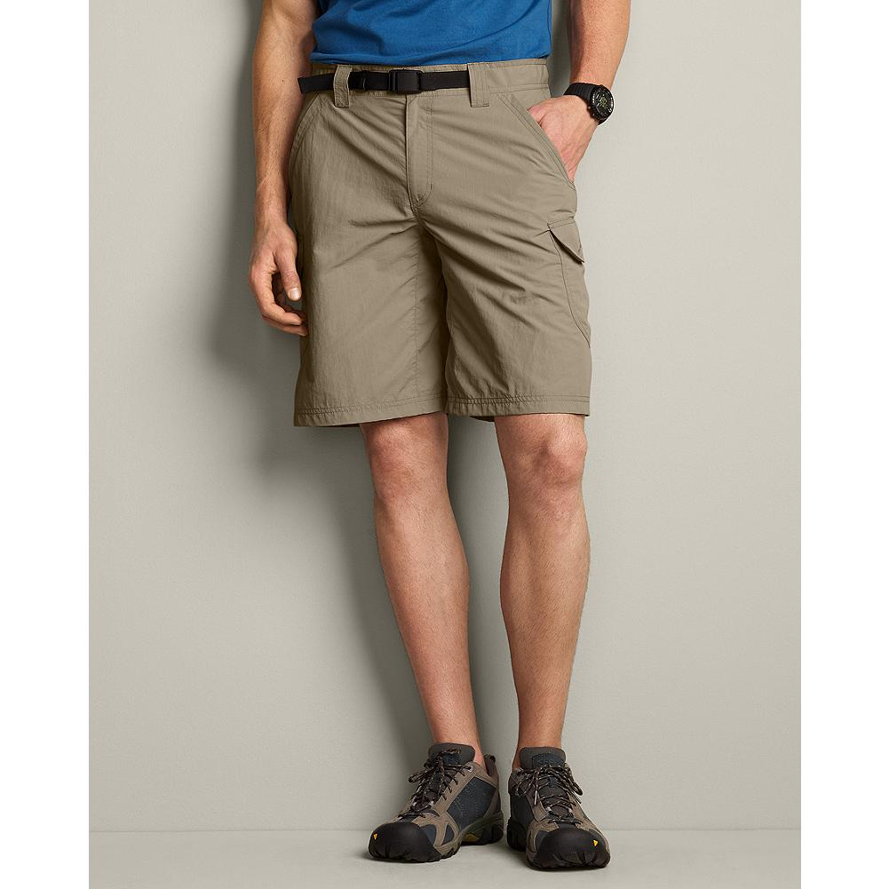 Eddie Bauer Travex Cargo Shorts - Our Travex cargo shorts wick moisture, dry quickly when they get wet, and help protect your skin from the sun, making them essential gear for your next adventure. - $34.99