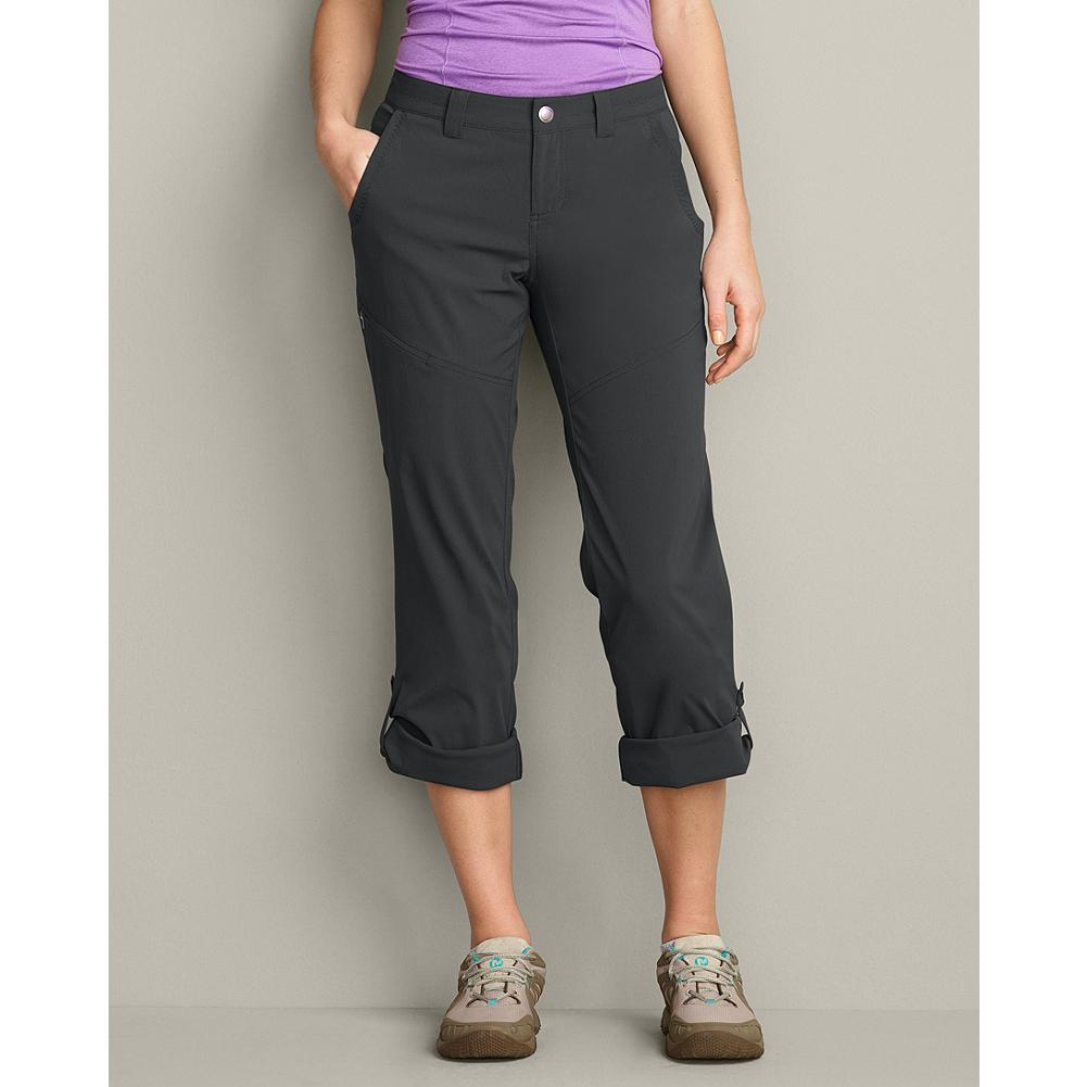 Eddie Bauer Travex Pants - Ready for any adventure, these pants are fast-drying, moisture-wicking, and offer UPF 50+ sun protection. Wear full length or roll up with attached button tabs. - $69.95