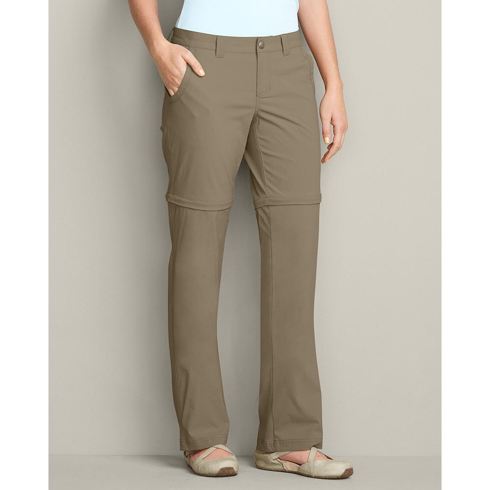 Entertainment Eddie Bauer Travex Convertible Pants - These travel basics easily convert from pants to shorts and back again, saving space in your duffel and keeping you comfortable. The easy-care 100% nylon fabric has a hint of stretch and a DWR finish to shed light rain. - $69.95