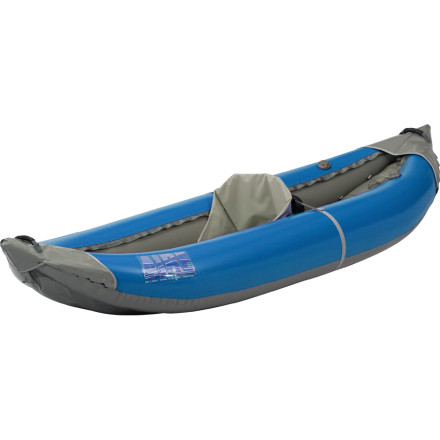 Kayak and Canoe Get ready for your first whitewater trip, or your second or third season on the river, with the AIRE Outfitter I Inflatable Kayak. AIRE designed this kayak with large tubes and a low seating position for stability in the water. With a low-sitting center of gravity, youre more likely to spend time boosting your whitewater skills and less time taking insultingly refreshing swims. - $1,398.95