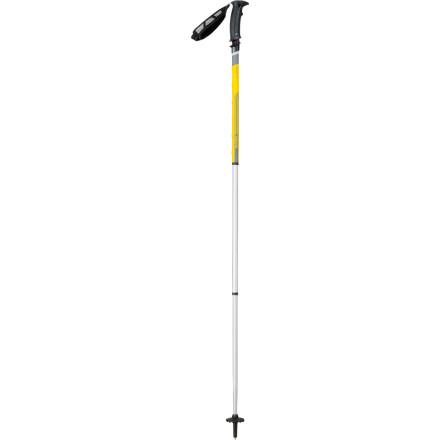 Camp and Hike For improved balance and stability on tough terrain, grab the innovative MSR SureLock TR-3 Trekking Pole. With the Trigger Release system, you can easily adjust the length of the pole with one hand while holding the grip, which means you can quickly adapt to changing terrain. The three-segment design allows the pole to be collapsed to just 23 inches and easily packed when the trail requires you to engage in some steep fourth class scrambling. - $149.95