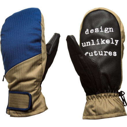 Ski The basic but toasty Analog Gentry Mitten uses strategic synthetic insulation to keep your hands warm without compromising your ability to grab tail and slap high-fives. - $32.97