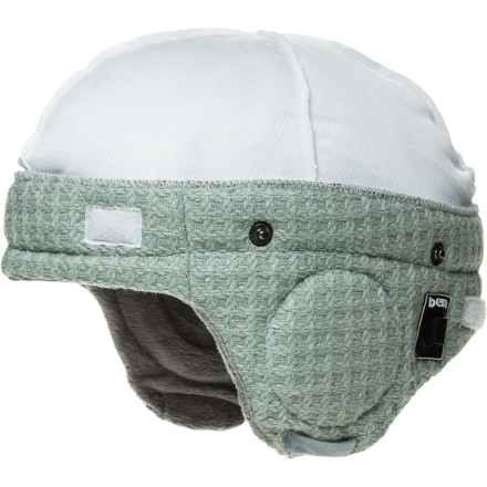 Snowboard Rock out in style with the Bern Adjustable Audio Grey Knit Helmet Liner. Snapped into a Bern helmet or worn on its own, the Audio Liner looks great and sounds better. You might want to turn it up, though. All those cat-calls can be distracting when you're trying to shred. - $47.96