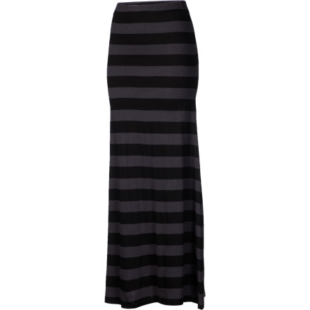 Surf The Billabong Anina Skirt is a dress and a skirt or even a hat if you're really good at tying knots and balancing things on your head. Wear this soft, fitted dress high or low on your waist, or just pull it up around your chest to make a sexy little tube dress. - $43.95