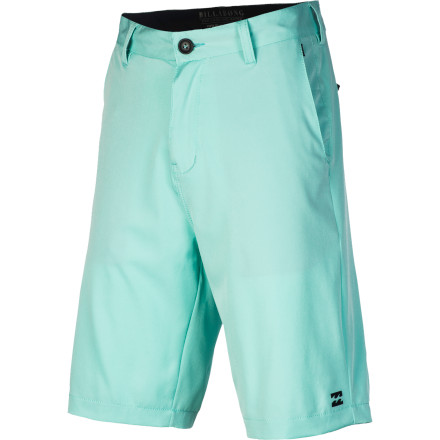 Surf There's nothing wrong with keeping your options open, and the Billabong Men's Carter Platinum X Hybrid Shorts keep the doors open for a chill night out or a raging beach party. Wet or dry, these versatile shorts are down to play either way. - $49.45