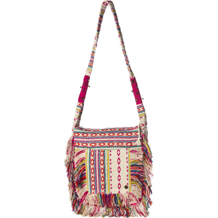 Surf Why stash your everything into your jacket pockets when you have the Billabong Feel It All Shoulder Bag Its bohemian style goes well with your earthy look and the main compartment has plenty of room for all of your everyday essentials. - $42.03