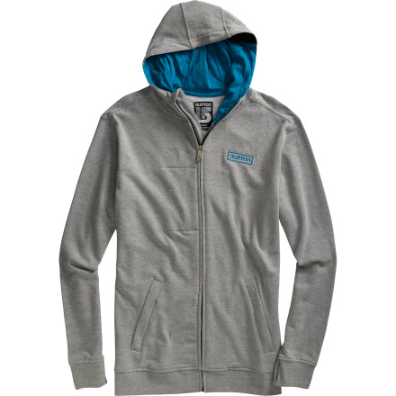 Snowboard The best way to stay anonymous is to keep moving by train, bus, and willing cross-country driver. The best way to stay fresh and comfortable during your constant elusive travels is to wear the Burton Premium Napper Full-Zip Hoodie. - $50.97