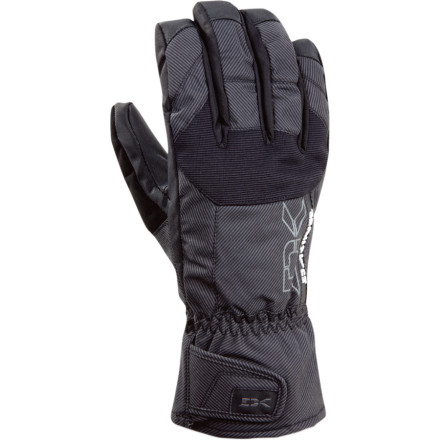 Snowboard Dakine gave the Scout Short Glove a smaller gauntlet to make it easier to slide under your jacket cuff. It also eliminates bulky wrists, so you dont look like youre smuggling a dachshund in your sleeve. - $44.95