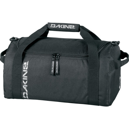 Entertainment Just because the DAKINE EQ Bag looks like an oversized fabric mailbox doesn't mean it's any less effective at carrying your stuff. In fact, it's probably way better than a duffel bag shaped like some kind of complex polygon. - $24.47