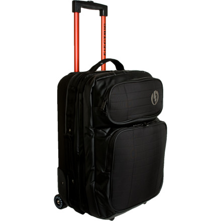 Entertainment Beat the confusion at the revolving baggage pickup zone with the Electric Small Block Carry-on Wheelie Bag. - $118.97
