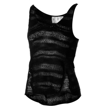 Skateboard Express your ethereal style in the Element Women's Transfer Tank Top with sexy, romantic voile details. Versatile enough for the seaside or a downtown club, this top dresses up or down with ease and attitude. - $34.62