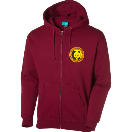 Entertainment The Established Full-Zip Hoodie commemorates Enjoi's founding in the year 1892. Back then, wheels were made of horse-hide and the big trend was monocles instead of Henleys. Also, handplants were really big, because it's pretty hard to skate on cobblestone or dirt roads. - $32.97