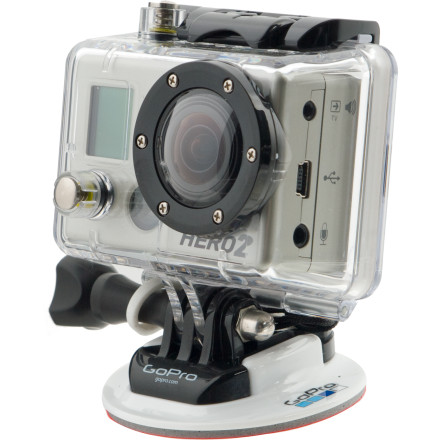 Surf Your salty, sea-water lips are covered in drool in anticipation of the GoPro HD Hero2 Surf Edition. Here it lies, in all it's high definition, waterproof glory. With twice the speed at the image processor, 2.8f fixed-glass that's twice as sharp, and a grip of water-specific mounting and case accessories, this camera begs to be stuffed into a deep barrel. Shoot a series of 11MP, professional quality stills, or fire away 120FPS video so you can rock some super slo-mo when you're editing later that night. GoPro made the Hero2 compatible with their BackPac accessories, so you can slap add-ons to your rig as they're released. - $199.99