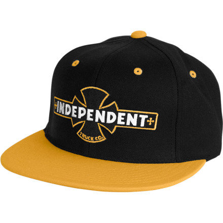 Skateboard If you don't like Independent trucks there is something wrong with you or haven't been skating that long. If you do like Indies, the Independent Painted BC Adjustable Starter Hat is something you should look into to show your love. - $14.93