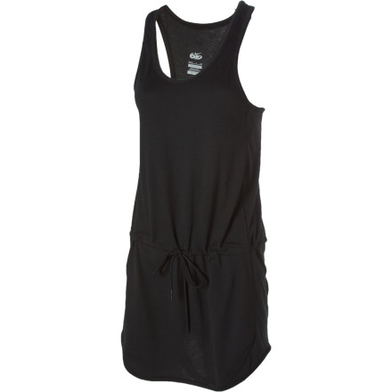 Entertainment The Nike 6.0 Tempo Cover-Up Dress features quick-drying Dri-Fit fabric to keep your skin happy before and after you get in the water. - $19.98
