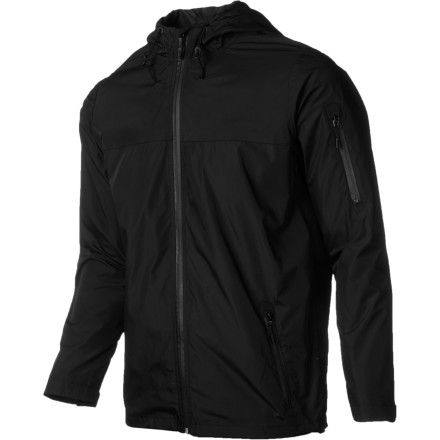 When inclement weather strikes, fend off wind and rain without looking like the guy from the frozen fishsticks box in the Nixon Captive Men's Jacket. It has the look of a normal street jacket, but with a polyester shell that protects you from the wind's biting chill and waterproof zippers to keep you from getting soggy when you get caught in a drizzle. - $49.98