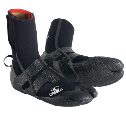 Surf Does the thought of dipping your precious little piggies into icy ocean water make your sphincter retreat into your stomach Pick up the O'Neill Mutant 3mm Split Toe Boots and stop being such a baby. Firewall insulation cranks up the warmth, while the split-toe design allows for precise control when you need it most. - $41.27