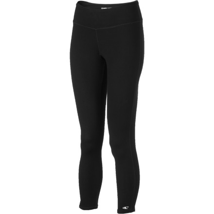 Fitness After you wear the O'Neill Women's Soar Capri Tight to an intense yoga session or cardio class, feel free to head right over to the deli or store without fear of embarrassing sweat stains. The 3XDRY technology keeps this fitted tight sweat-mark free so you don't have to tie your sweatshirt around your waist or change right away after your workout. - $61.16