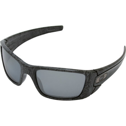 Entertainment Oakley's Fuel Cell Sunglasses mix art and technology to make a big, bold statement. The Fuel Cell's hard, angular lines and metal accents let everyone know that it's not to be trifled with. Don't piss off the Fuel Cell. It knows where you live. - $150.00