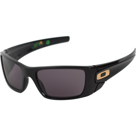 Entertainment Before you go buy a bunch of cheap sunglasses, be like Bob and get his recycled Oakley Bob Burnquist Signature Fuel Cell Sunglasses. It's made from them. Built with excess materials gathered while making other sunglasses, this recycled O-Matter frame sets a new standard while wowing style lovers with its bamboo accents. Plus, a portion of the proceeds go to the Action Sports Environmental Coalition, which, through athletes and companies, educates the world about making sound environmental choices. - $120.00