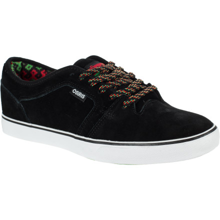 Skateboard The Osiris Decay Skate-Aid Skate Shoe is a joint effort between the Skate-Aid foundation and Osiris benefiting underprivileged areas of the world. You get a minimal-looking skate shoe with sharp looks, someone else gets hope on four wheels. - $38.47