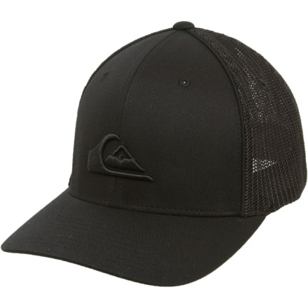 Surf Yeah, we know you don't actually surf. You can still fake it, though. Just bleach your hair, schedule a few appointments at the tanning bed, and say 'dude' a lot. Oh, and top it all off with the Quiksilver Netts Trucker Hat. - $28.00