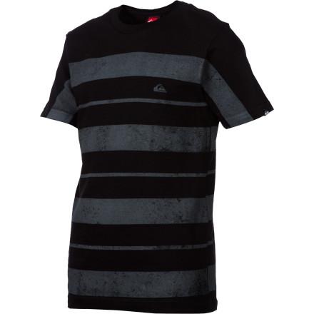 Surf Quiksilver Fingerprinted T-Shirt - Short-Sleeve - Boys' - $13.20