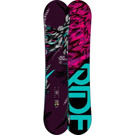 Snowboard With a responsive flex, Hybrid All-Mountain profile, and plenty o' carbon, the Ride Farah Snowboard offers a reactive, smooth ride for aggressive female riders who charge everywhere on the mountain. - $299.97