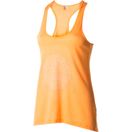 Surf Slip on the Rip Curl Women's Vitamin C Tank Top, grab a frosty beverage, and watch the sunset from your front porch after a day of hard work. - $18.17
