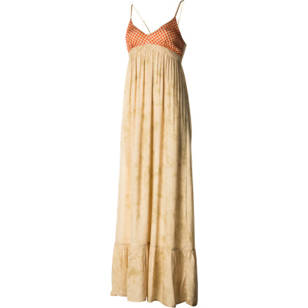 Entertainment When you hear the sound of festive music from your hotel window, put on the Rip Curl Women's Sundancer Dress, grab your purse, and get ready for a night of good times. - $53.51