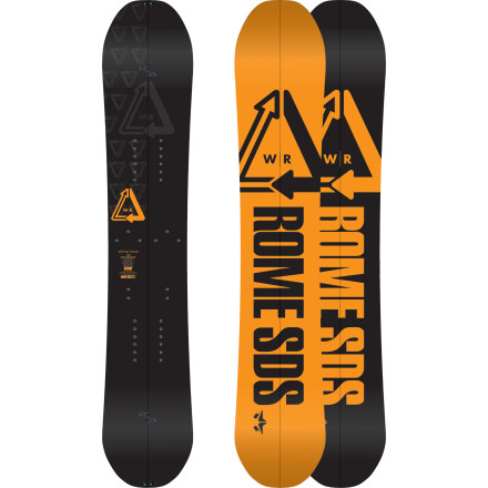 Snowboard With the Rome Whiteroom Splitboard, chances are the same people you pass post-holing on the way up are same people you will lap again and again on your way down, slashing, floating, and grinning the entire time. - $479.96