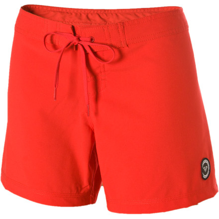Surf The Roxy Women's Classic Board Short gives you a simple, straightforward look and plenty of coverage to protect your skin from the sun, board rash, and those pervy dudes in the dark sunglasses who you can always feel staring at you. - $29.40