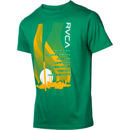 RVCA New Industry T-Shirt - Short-Sleeve - Men's - $21.56