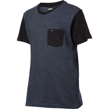 Fitness RVCA Change Up T-Shirt - Short-Sleeve - Boys' - $18.17
