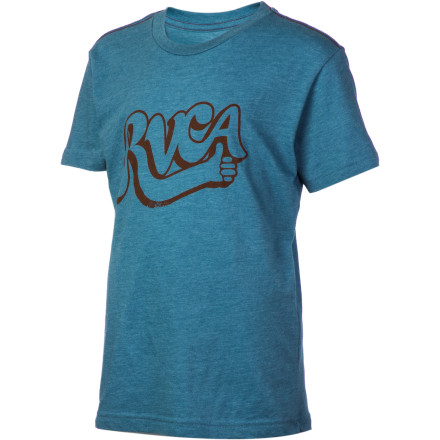 Fitness RVCA Good Job T-Shirt - Short-Sleeve - Boys' - $15.37